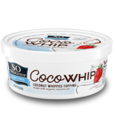 Coco whip coconut Whipped Topping So Delicious Dairy Free